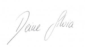 Unterschrift Silvia